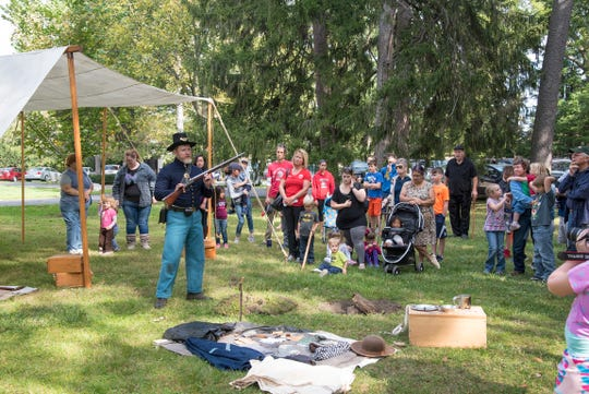 Kids will experience Civil War camp life during Kids Days @ Hayes on Saturday, Oct. 26, 2019, at the Hayes Presidential Library & Museums. Other Civil War events also will take place on Saturday, Oct. 26, at Hayes Presidential.