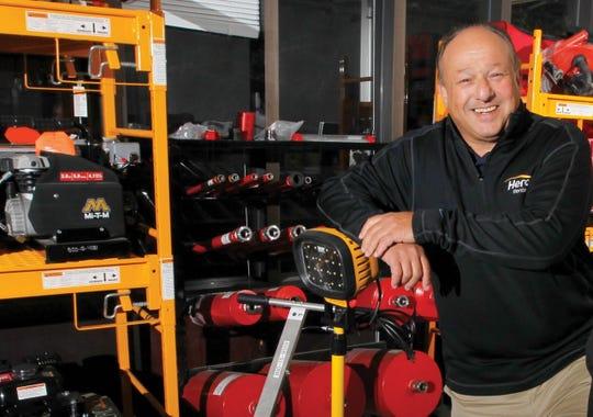 Larry Silber, president/CEO, Herc Holdings in Bonita Springs.