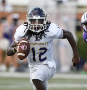 A key for Western Carolina against Furman on Saturday will be the health of quarterback Tyrie Adams (12).