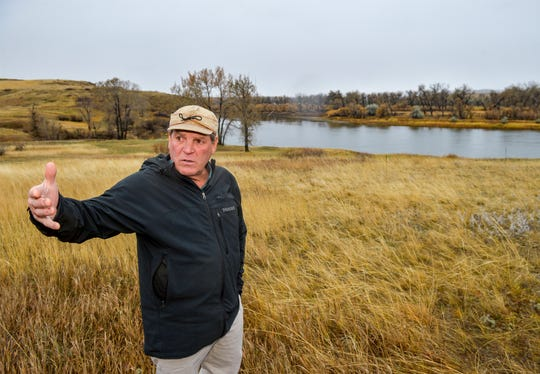 "The southern border of River Bend Estates subdivision abuts the Missouri River. ""This is the most beautiful river property in the county,"" says Rick Higgins, who is developing the property with his wife, Judy."