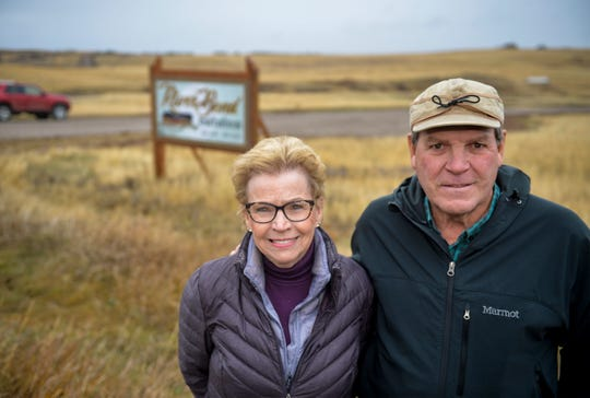"Rick and Judy Higgins are developing the River Bend Estates subdivision off of Flood Road south of Great Falls. ""I kind of fell in love with it,"" Rick says of the property."