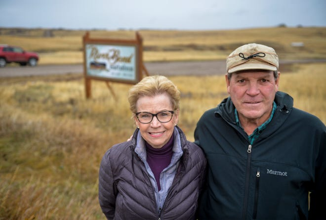 """Rick and Judy Higgins are developing the River Bend Estates subdivision off of Flood Road south of Great Falls. """"I kind of fell in love with it,"""" Rick says of the property."""
