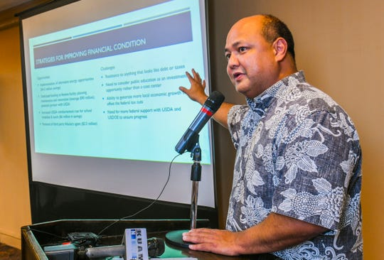 Guam Department of Education Superintendent Jon Fernandez, shown in this file photo from October 2019.