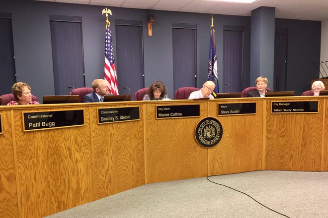 Henderson City Commission meeting from Tuesday, Oct. 22.