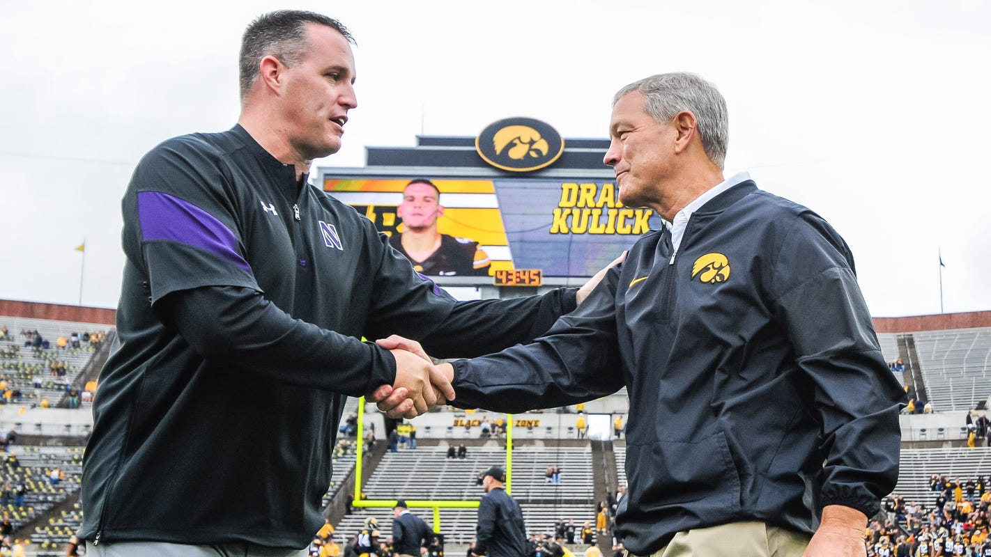 Hawkeye football mailbag: What's behind Pat Fitzgerald's mastery of Iowa?