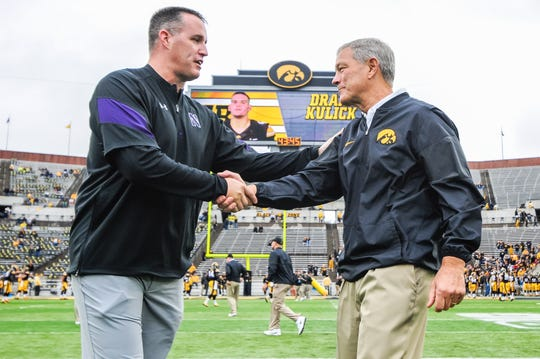 Pat Fitzgerald owns an 8-5 record against Kirk Ferentz, with wins in 2006, 2008, 2009, 2010, 2012, 2016, 2017 and 2018.