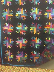 The winner of the beautiful handmade quilt, which was on display at the Brooktondale Apple Festival, is Sue Hilliker from Brooktondale.