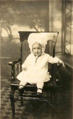 A young Thelma Davis. She was born in 1919 and recently celebrated her 100th birthday at Morning Pointe in Powell.