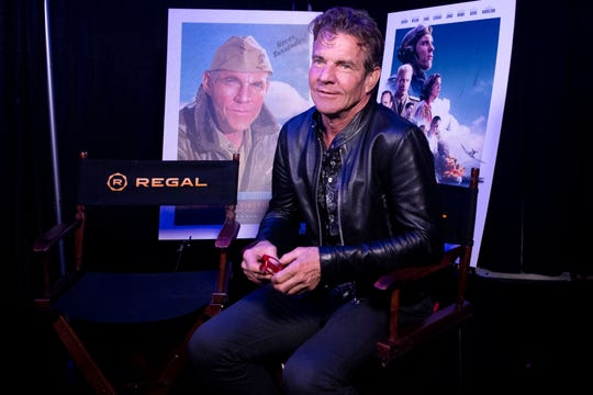 Dennis Quaid during a backstage interview at Regal's annual Variety fundraiser on Tuesday, October 22, 2019.