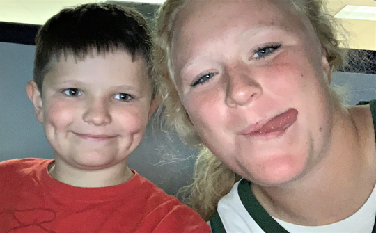 Big Brothers Big Sisters of Manitowoc County has named Big Sister Kendra Hammel and Little Brother Connor as its match of the month for September.