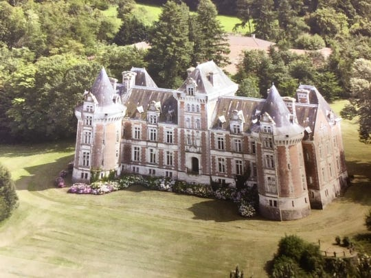 Mansfield businessman Kurt Stimens has has purchased a castle in France.