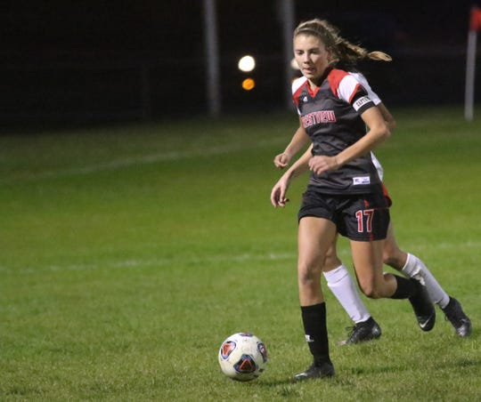 Crestview's Kathleen Leeper was named a first team All-Ohioan by the Ohio Scholastic Soccer Coaches Association on Sunday.