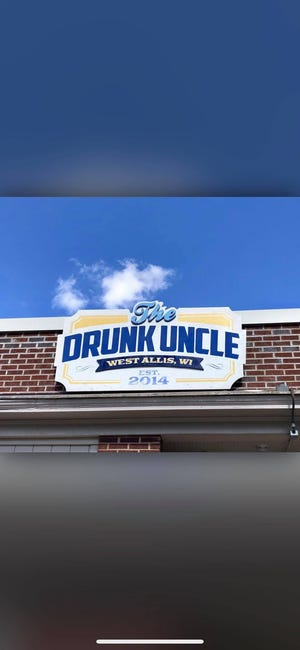 The Drunk Uncle holds a protest against Founders Brewing