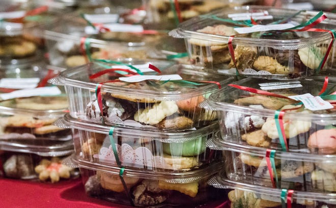 Cookie sales are a popular way for non-bakers, or people too busy to bake, to have homemade holiday cookies on hand.