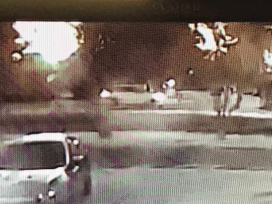 The MPD has released this photo of a white SUV believed to be involved in a fatal hit-and-run wreck on Tuesday night.
