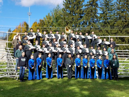 The Montville Township High School Field Corps wins both the 2018 U.S. Bands Nationals and the 2018 U.S. Bands States Competitions.