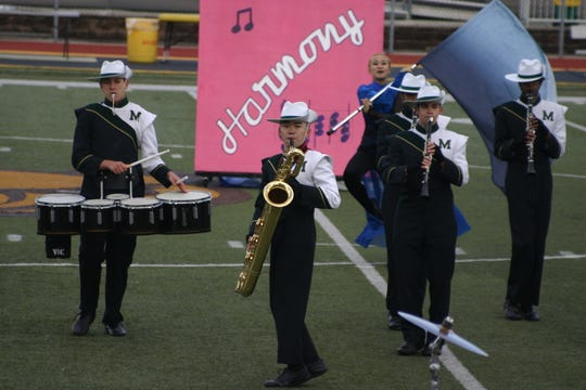 Montville Township High School Field Corp performs an award-winning routine at 2018 competition.