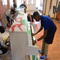 BTW Magnet School student Will Williams takes a break from painting pianos to try his hand at playing them. The pianos will become playable art installations in downtown Montgomery.