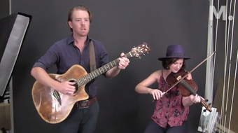 Montgomery music duo Kimberly Wolfe and Todd Fulmer perform at the Montgomery Advertiser
