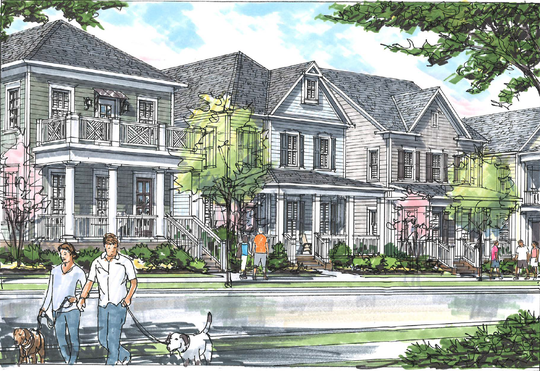 A rendering of what the Southbrooke development could look like.
