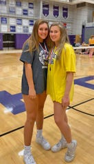 Fairview Freshman Outside Hitter Marley Baker and Senior Outside Hitter Neyland Yeager were selected to the Region 6AA All-Tournament Team.