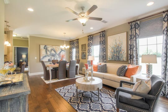 Goodall Homes is building 143 cottage homes in Nolen Mill in Nolensville. The age-restricted neighborhood's homes have zero-step entries and one-level living. Interiors have open floor plans.