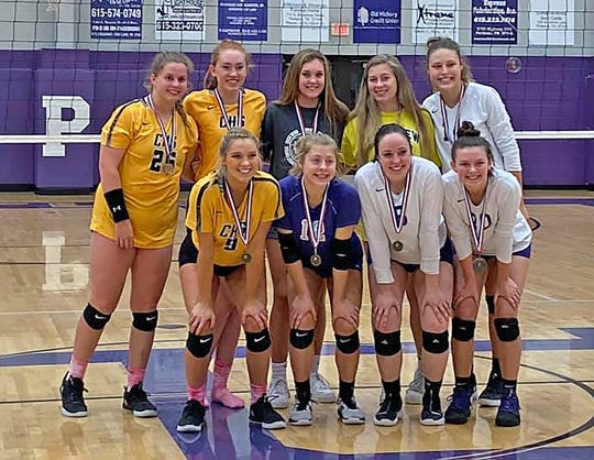 Lady Jackets Volleyball Team completed their season with a Third-place finish in Region 6AA on October 15, 2019.