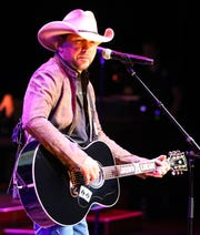 Jason Aldean performs at the Musicians Hall of Fame Induction Ceremony and Concert at Schermerhorn Symphony Center Tuesday, Oct. 22, 2019 in Nashville, Tenn.