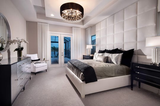 Vogue Interiors has completed the interior design for Stock Development's furnished Livia model at Isles of Collier Preserve in Naples.