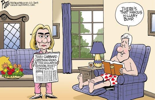Hillary vs. Tulsi.