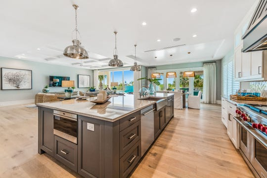 Seagate Development Group's furnished Captiva model is now open for viewing and purchase at Hill Tide Estates on Boca Grande.