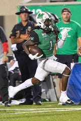 South Fort Myers graduate Willie Johnson is putting together an outstanding season as a redshirt junior receiver at Marshall.