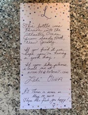 Sealed in a Starbucks Frappucino bottle, this message was found by a man in Flatrock Cove, Newfoundland this summer.