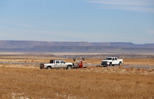 The Navajo Police Department in Shiprock responded to an incident involving an overturned aircraft at the Shiprock Airstrip on Oct. 23.