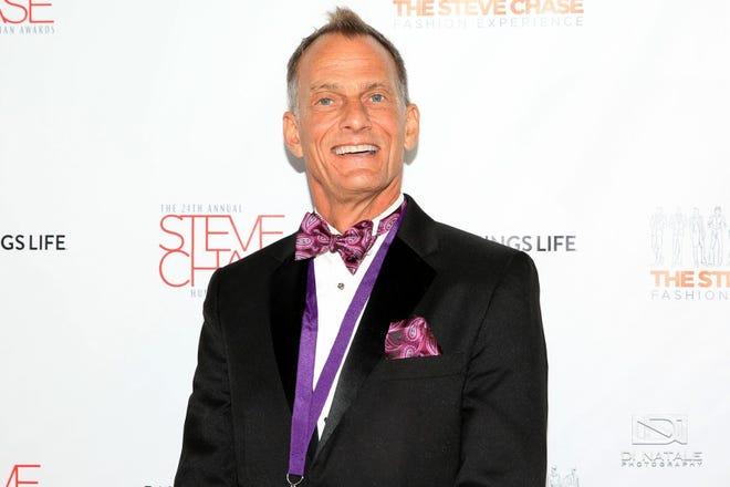 Matthew Stoker smiles at the Steve Chase Awards.