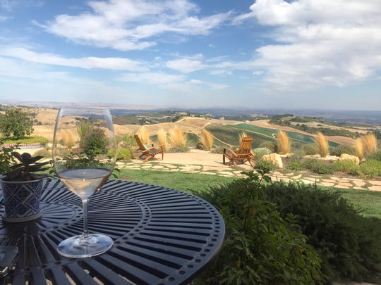 DAOU Vineyards' view alone is worth the drive to Paso Robles.
