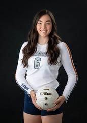 Vail Cienega girls volleyball player Ashley Robinson