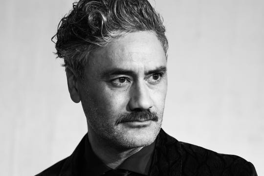 """""""I'm not trying to be the bad boy of cinema with this movie,"""" Taika Waititi says of """"JoJo Rabbit."""""""
