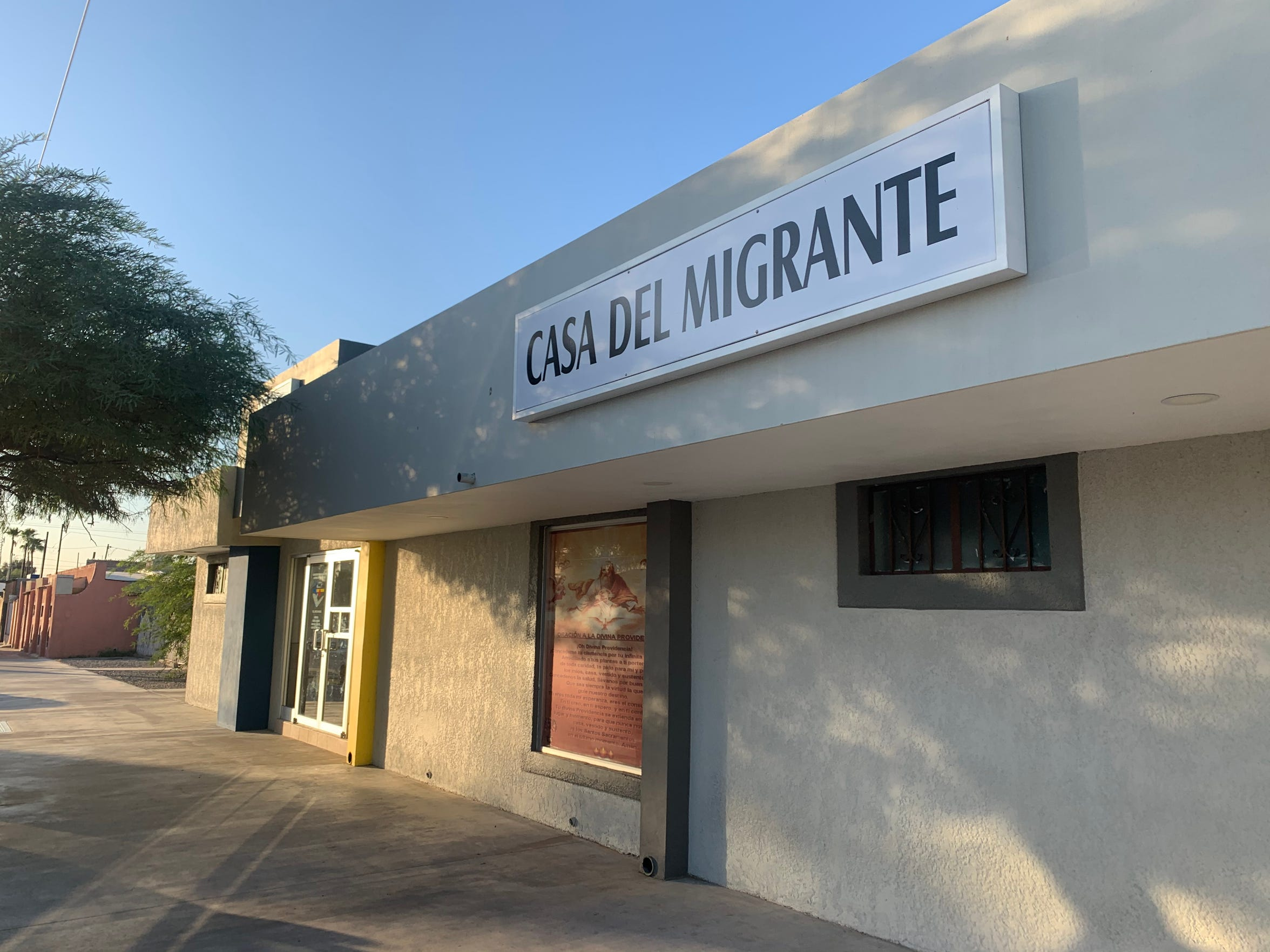 Casa del Migrante La Divina Providencia, the lone shelter in San Luis Rio Colorado, has taken over administration of the list of asylum seekers waiting to present their claims at the San Luis port of entry.