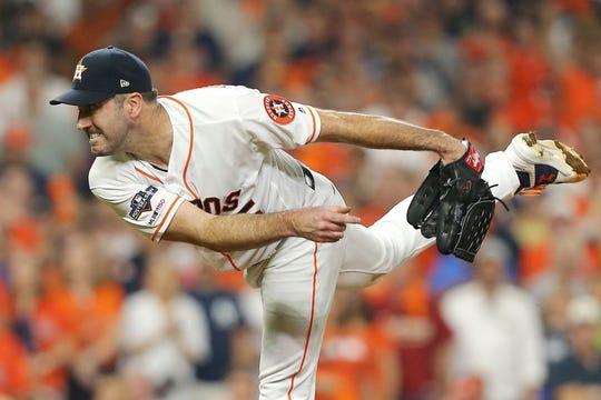 Justin Verlander, pitcher de Astros.