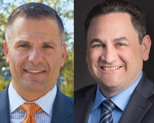 Marc Molinaro and Joseph Ruggiero are running for Dutchess County Executive.