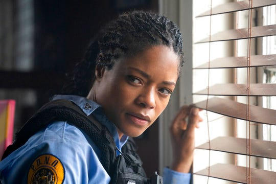 "Naomie Harris stars in ""Black and Blue."" The movie is playing at Regal West Manchester, Frank Theatres Queensgate Stadium 13 and R/C Hanover Movies."