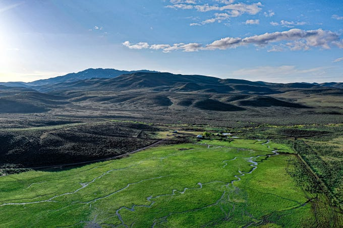 The 25 Ranch based in Battle Mountain dates to the 1870s, features 600,000 acres spanning four Northern Nevada counties, and is for sale for $36.5 million.