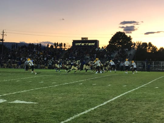 The Galena at Bishop Manogue game has been moved to Monday night.