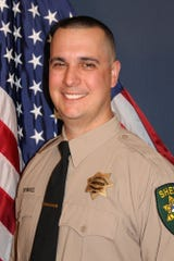 A photo of El Dorado County Sheriff's Deputy Brian Ishmael. Authorities announced Ishmael was shot and killed while responding to call for service in Somersett, Calif. in the early morning hours of Wednesday, Oct. 23, 2019.