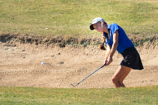 Carson junior Karen Beglin was fifth in the 4A girls state golf tournament.