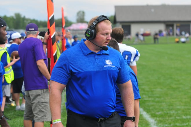 """Centerville head coach Kyle Padgett will stand across from his former coach, mentor and the """"greatest man I know"""" when Indianapolis Scecina comes to town on Friday night."""