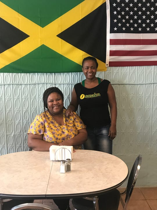 Michelle Thomas owns Nin's, a Jamaican restaurant on Hudson Avenue. Her daughter, Lorreil Thomas, also works in the restaurant.