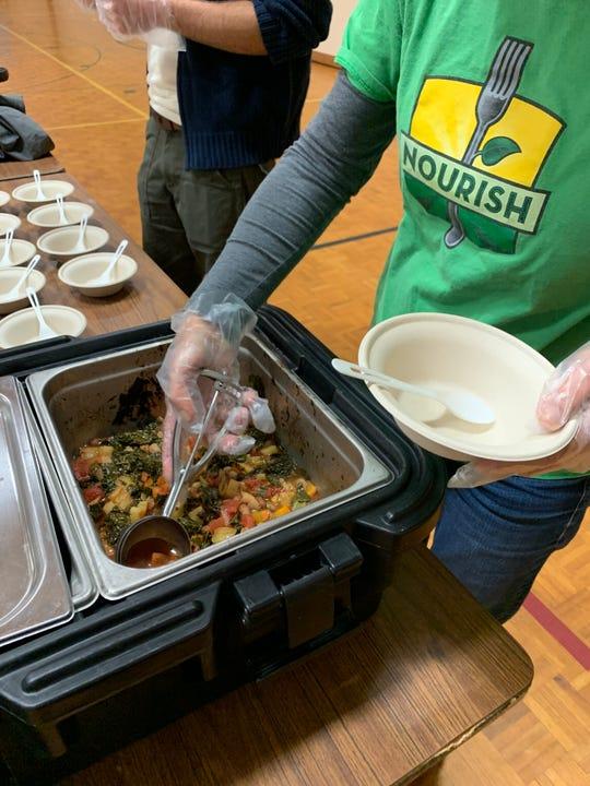 Nourish's Good Food Club at Grant Elementary School.