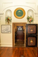 The Spring Street Museum features the original vault from Shreveport's first bank, which opened in the mid-1860s.